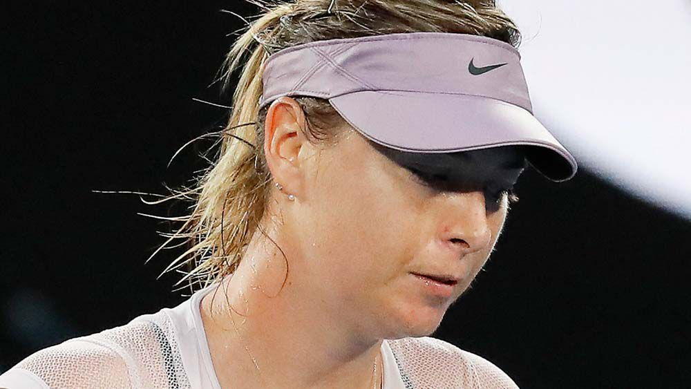 Australian Open: Maria Sharapova crashes out at the hands of Angelique Kerber