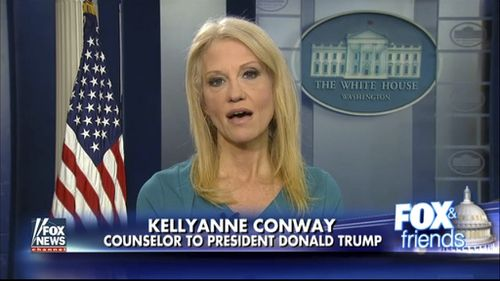 Kellyanne Conway appeared on Fox News and told people to buy clothes from Ivanka Trump's line. (AAP)