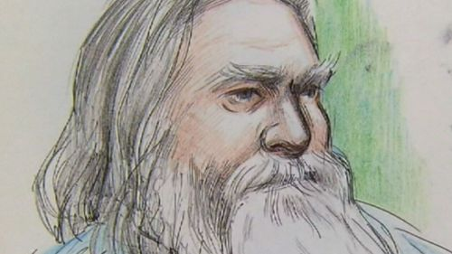 Ernet Fisher claims he killed his son in self-defence. Picture: 9NEWS