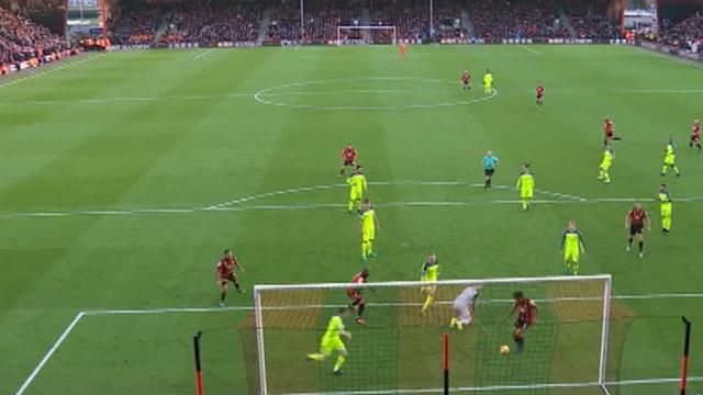 Liverpool slump to loss against Bournemouth, Man United draw with Everton