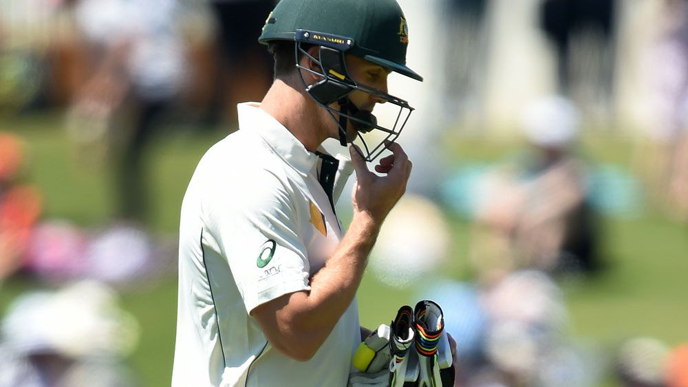 There was more disappointment for Mitchell Marsh. (AAP)