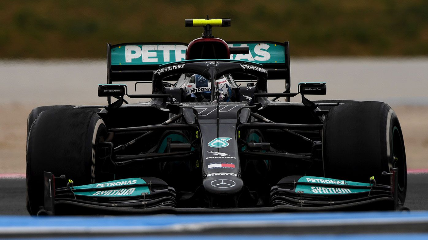 Valtteri Bottas finished fourth at the French Grand Prix.
