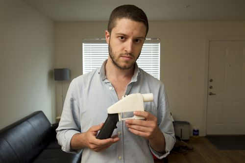 The idea behind 3D-printed guns was first introduced to the world after Cody Wilson created his 'Liberator' pistol in 2013. Picture: Supplied.