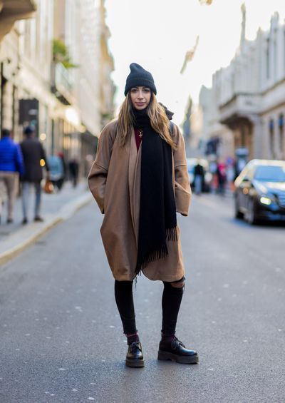 <p>Valentina Raimondi in the season's must-have - the slouchy soft hat.</p> <p>Image: Getty.</p>