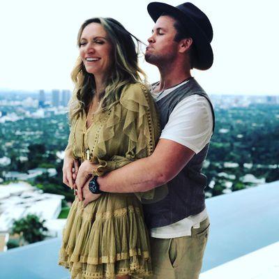 Samantha Hemsworth and Luke Hemsworth
