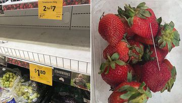 Prices for strawberries dropped to unbelievable lows in the lead-up to the decision by Coles and Aldi.