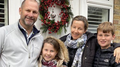 Georgia Smith with her family