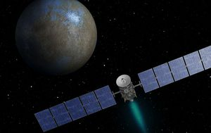 NASA discovers salt water oceans under surface of dwarf planet