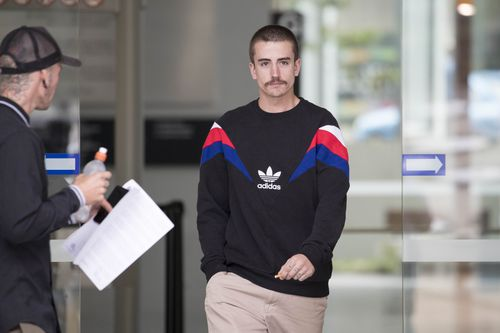 Under cross-examination, Mr Rowe agreed he had lied about drugs to police. (AAP)