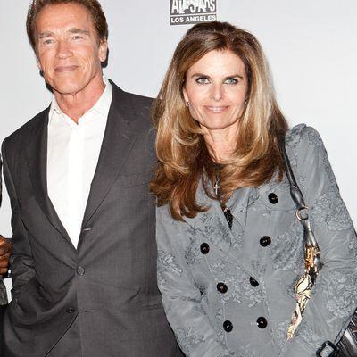 8. Arnold Schwarzenegger and Maria Shriver