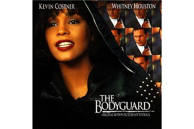 Also in 1992, Whitney starred in her first film -<i>The Bodyguard</i> - with Kevin Costner. The soundtrack to the film featured the song 'I Will Always Love You,' originally recorded by Dolly Parton. Whitney's version of the ballad was a massive hit, and came to be known as her 'signature song.'