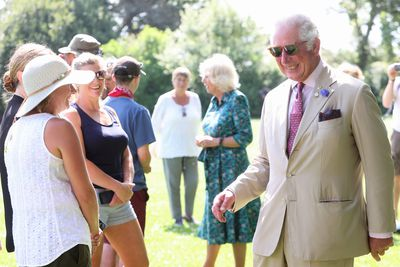 Prince Charles and Camilla visit Isles of Scilly, July 2021