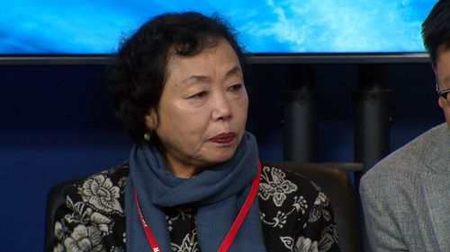 Xiaoping, 66, today said she is still traumatised from a violent home invasion in which three thieves locked her in a bedroom. Picture: 9NEWS.