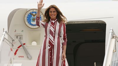 Melania Trump's plane forced to land after smoke fills cabin