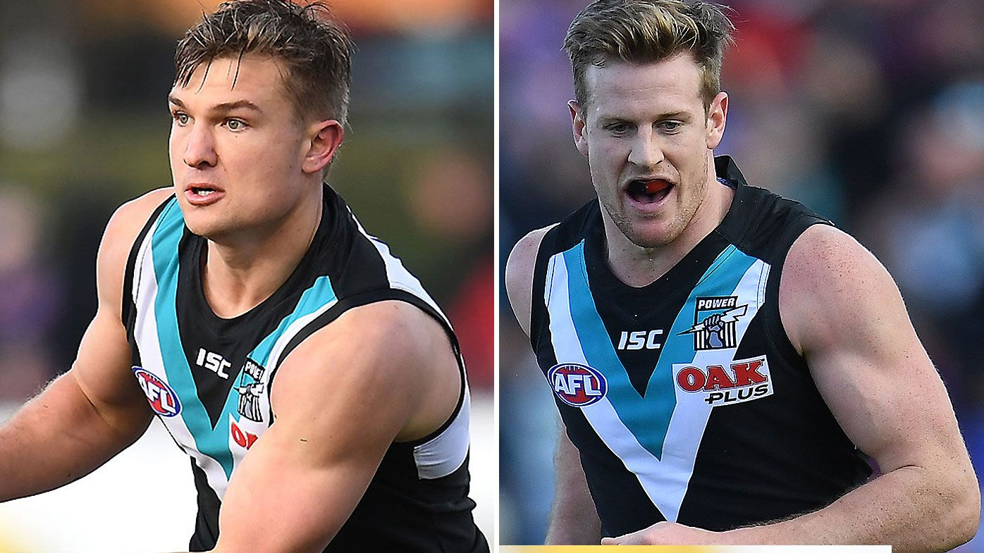 Ollie Wines and Tom Jonas appointed co-captains of Port Adelaide