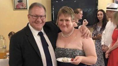 Gavin Dallow and partner Lisa Hosking.