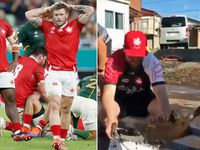 Canada rugby team assist victims of Typhoon Hagibis