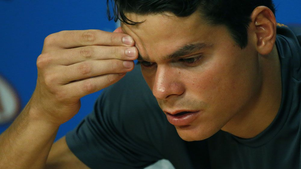 Injured Raonic heartbroken after Open loss