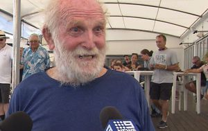 Queensland grandfather becomes oldest person to sail around the world