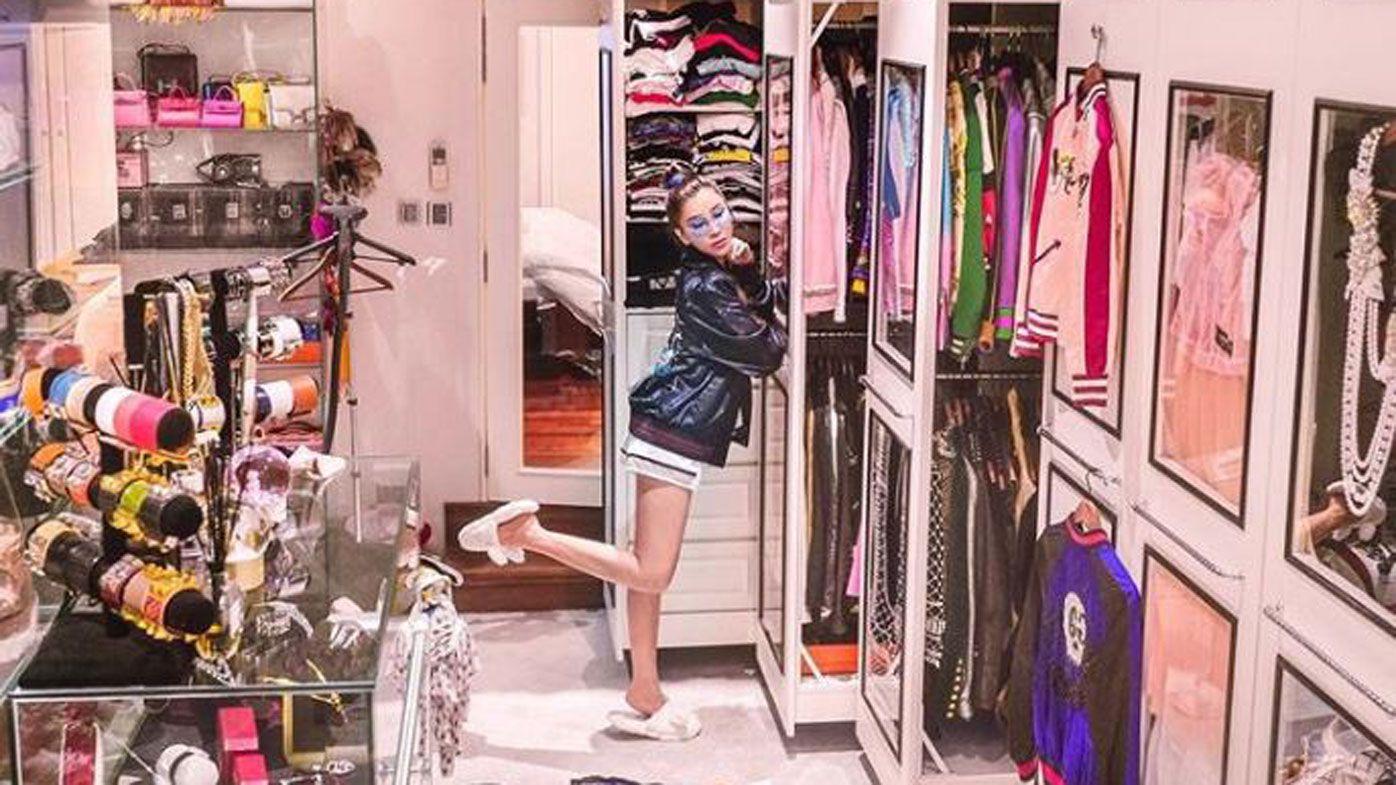 Jamie Chua closet