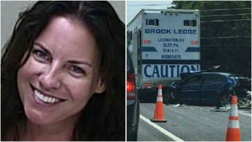 US woman who smiled in mugshot jailed over fatal crash