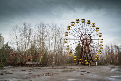 Inside Chernobyl, the eerie nuclear disaster site turned tourist attraction