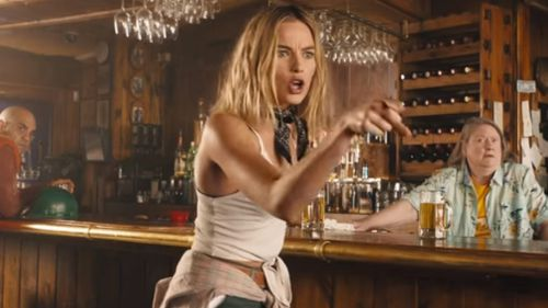 Oscar-nominee Margot Robbie shows off her acting chops in the trailer. (Dundee Movie)