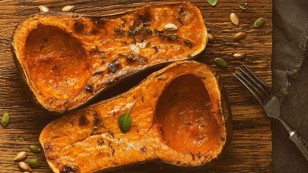 Roasted butternut pumpkin