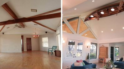 One Of A Kind Before and After transformation home renovation