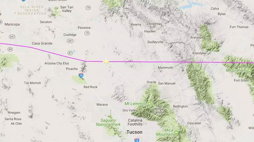 UFO spotted by pilots in two separate planes in Arizona