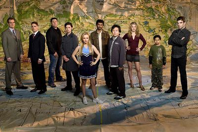 <B>Nominated for...</B> Outstanding drama series, in 2007.<br/><br/><B>Why it's bad:</B> Actually, the gripping first season of <I>Heroes</I> really did deserve its Emmy nomination — it's just that the increasingly awful later seasons made the nod look like a joke in hindsight. In season two it became clear that the <I>Heroes</I> writers had no clue how to develop the series, and it was axed after four seasons.
