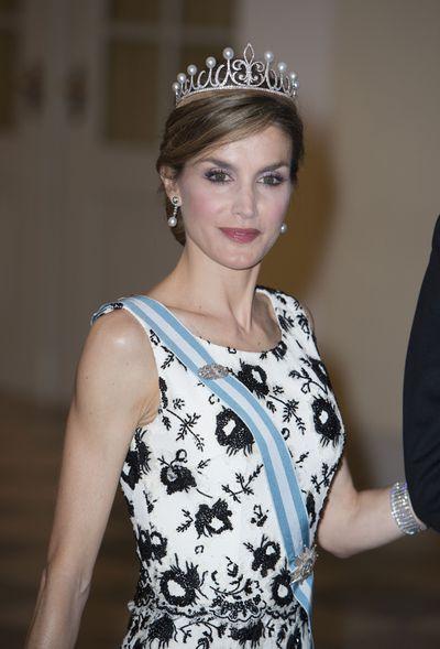 The Asturias Fleur-de-Lis tiara