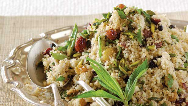 Fruited cumin couscous