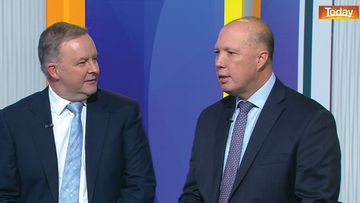 Peter Dutton and Anthony Albanese had a tense exchange on Today.