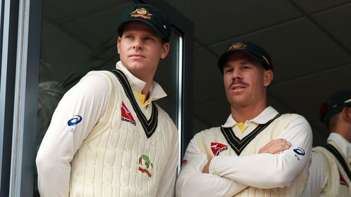Steve Smith and David Warner have been banned by Cricket Australia over their involvement in the ball-tampering scandal. (AAP)