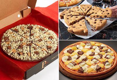 Chocolate pizzas