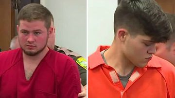 Jonathon Adamson, 21, and Benito Marquez, 16, were charged in Lewis County Superior Court with murder. Picture: CNN