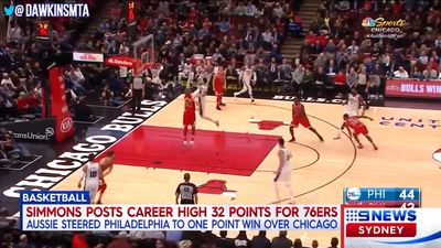 NBA: Ben Simmons gets Philadelphia 76ers home against Chicago Bulls