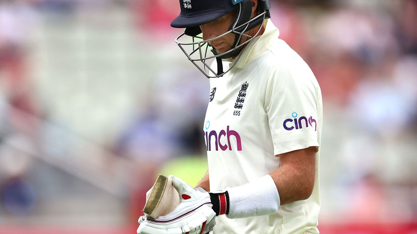 Joe Root is dismissed cheaply on day one of the second Test between England and New Zealand.