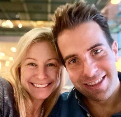 Alissa Camplin and husband
