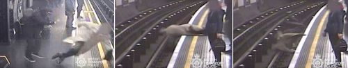 91-year-old former boss of Eurotunnel Sir Robert Malpas was pushed on to the tracks of Marble Arch Underground station by schizophrenic Paul Crossley.