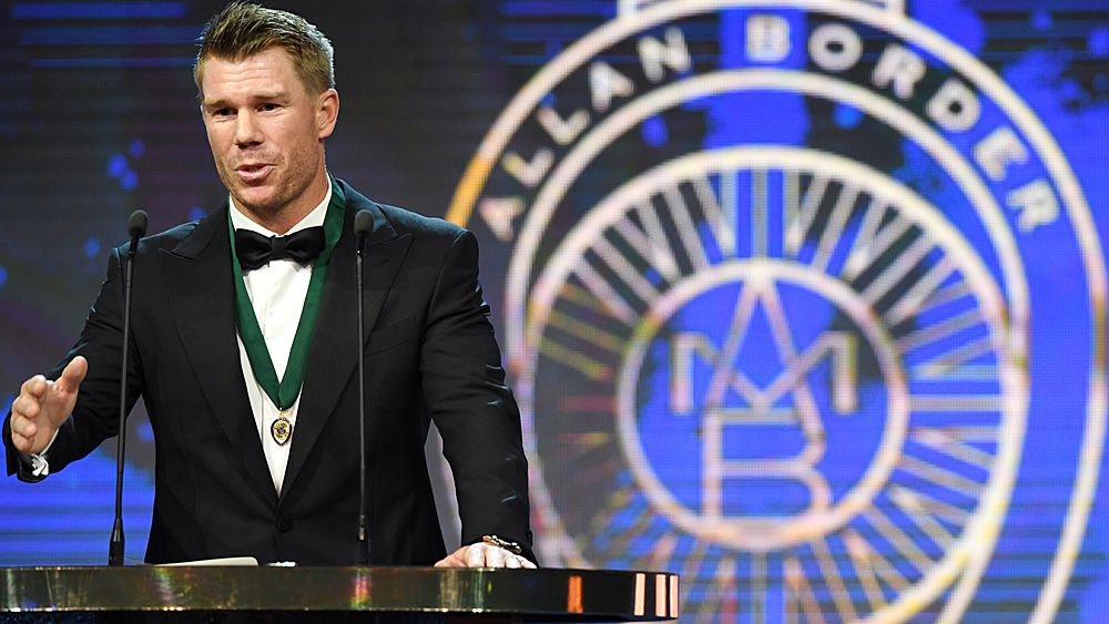 Australia captain Smith wins second Allan Border medal