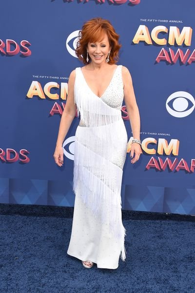 Host for the evening Reba McEntire
