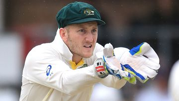 Peter Nevill will make his Test debut tonight. (AAP)