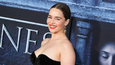 Emilia Clarke - star of Game of Thrones - and owner of dead cool name. Image: Getty.