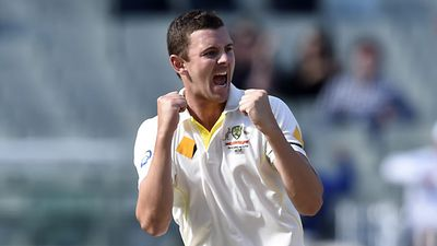 Josh Hazlewood Every tall Aussie seamer since Glenn McGrath retired has been compared the legendary bowler from Narramine, but Josh Hazlewood is the real deal.   The towering 1.96m kid from Tamworth has jumped the queue to enter the Ashes series in brilliant form.   With just five Tests to his name, Hazlewood has already nabbed 24 wickets and will only get better in the favourable English conditions.