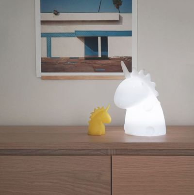 "<a href=""https://www.yellowoctopus.com.au/unicorn-lamp"" target=""_blank"">Junior Unicorn Lamp, $89.99.</a>"