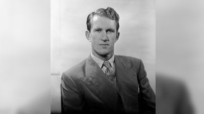 John Malcolm Fraser was born on 21 May 1930 in Toorak, to a family involved in politics and agriculture. He is pictured here aged 26. (Supplied)
