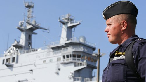 France delays delivery of Russian warship over Ukraine crisis