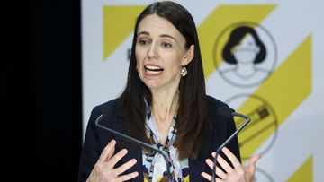 New Zealand Prime Minister Jacinda Ardern expressed a hope for 'sustained reductions' in case numbers over time.
